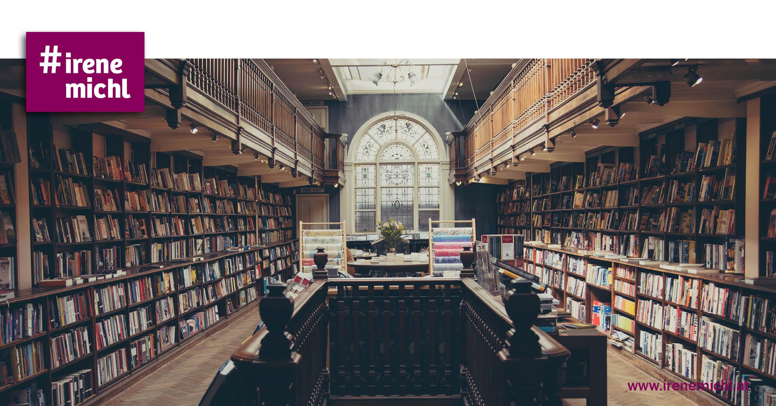 Bild einer Bibliothek